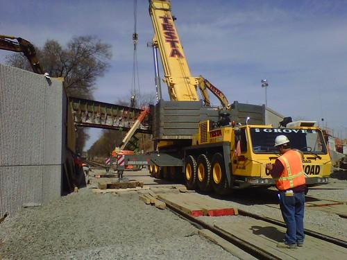 Boston- River Street Heavy Lift, April 14, 2012