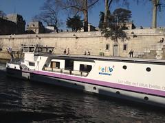 The Velib boat by kathrynlinge