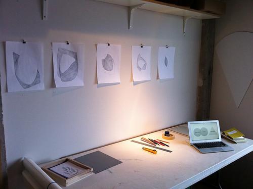 Evan Boens studio visit