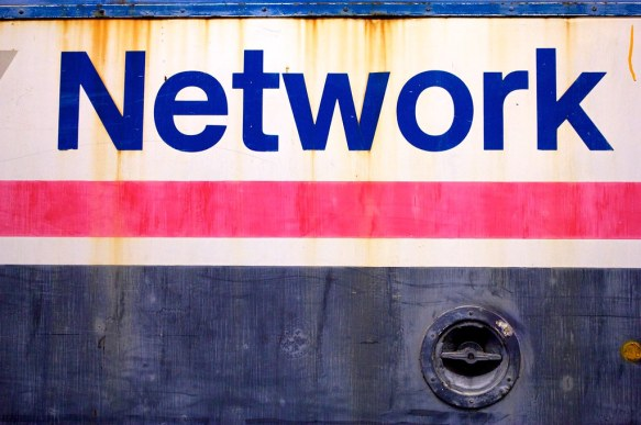 Network (in glorious Helvetica)