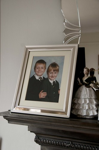 Mum: Photo of Thomas and Helen
