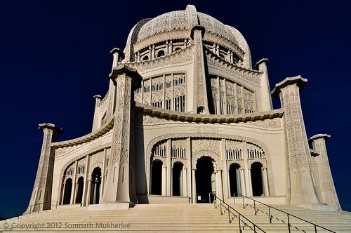 Bahá'í House of Worship, Wilmette, Illinois by Somnath Mukherjee Photoghaphy
