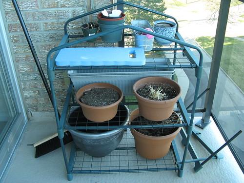 My gardening supplies
