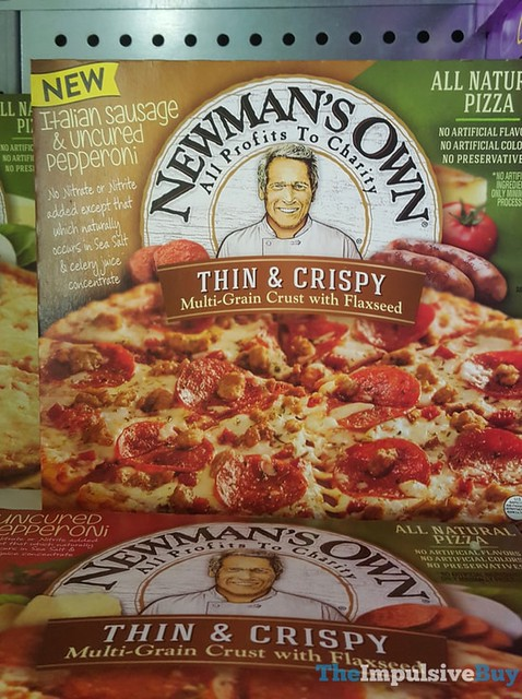 Newman's Own Thin & Crispy Italian Sausage & Uncured Pepperoni Pizza