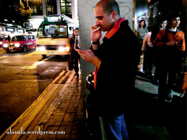 Cigarette & Phone