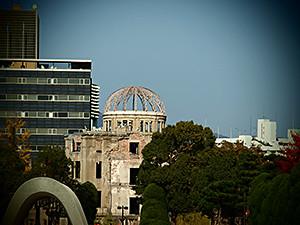 Atomic Dome at Ground Zero in Hiroshima.