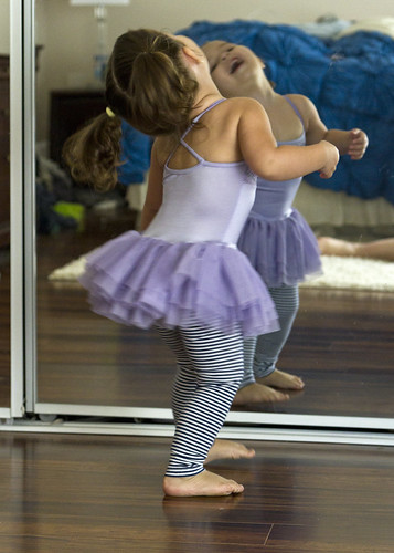 dancing in the mirror