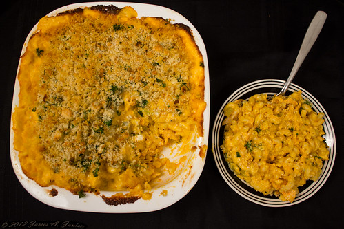 Buffalo Chicken Mac and Cheese 11