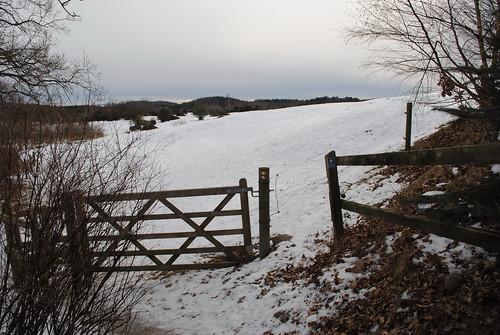 Ingång till Risen naturreservatet