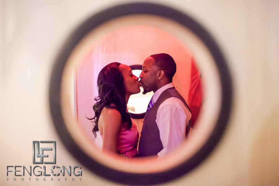 LaTasha & Gabriel's Engagement Session | Georgia Aquarium | Atlanta Wedding Photographer