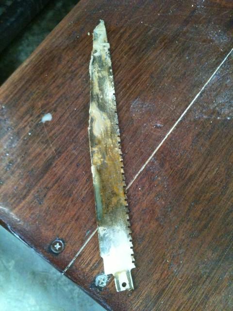 Sawzall blade tool