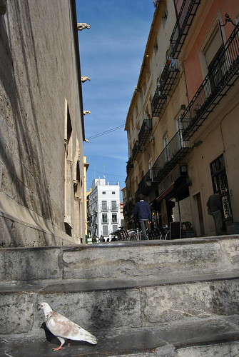 calle lateral de L Lonja