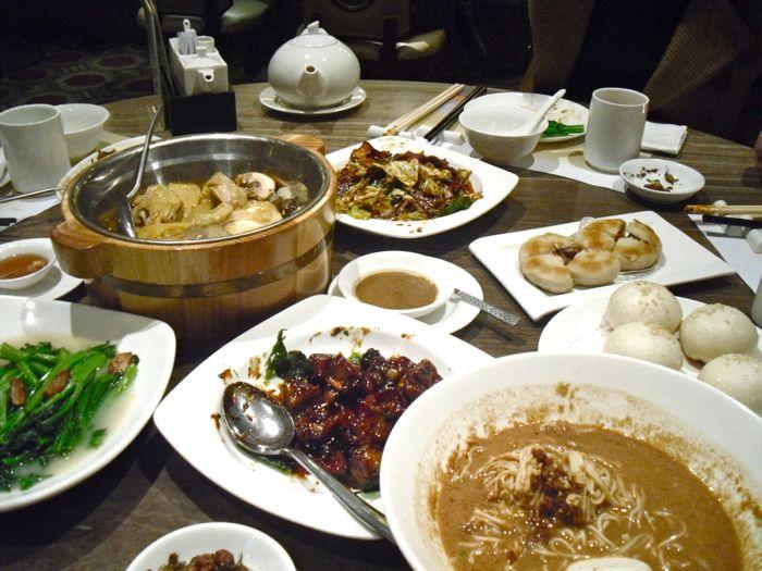 Dinner at Wang Jia Sha