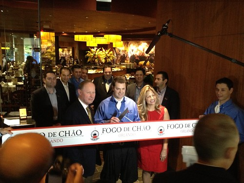 Fogo de Chao ribbon cutting