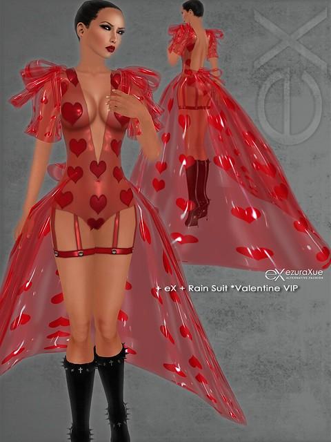 + eX + Rain Suit *Valentine VIP