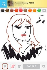 Adele, Draw Something App