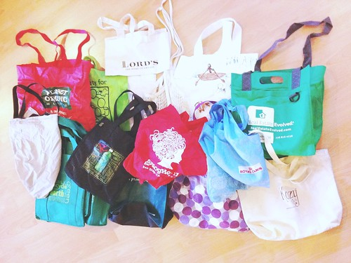 Reusable bag overload what to do in Vancouver