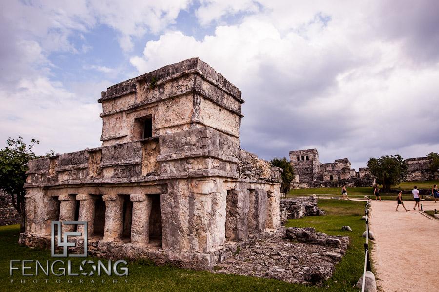 Mayan Ruins at Tulum   Jessica & John's Destination Wedding   Playa del Carmen, Mexico   Riviera Maya Quintana Roo Destination Wedding Photographer