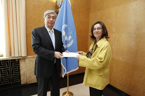 New Permanent Representative of Spain presents credentials