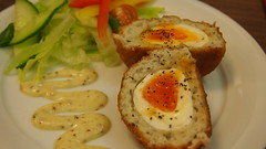 Cod and Mackerel Scotch Egg