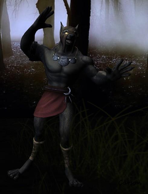 BOXED HEROES _ Werewolf (mesh)