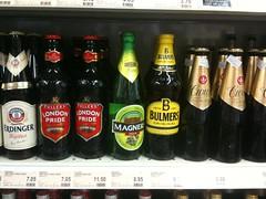 Bulmers Original Cider in Cold Storage