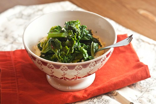 Microwave Polenta with Garlicky Greens (6 of 6)