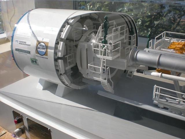 TBM Scale Model