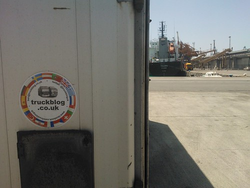 TB On the move in Limassol port, Cyprus!!