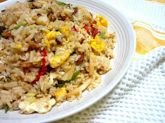 Roast pork sauce fried rice 2