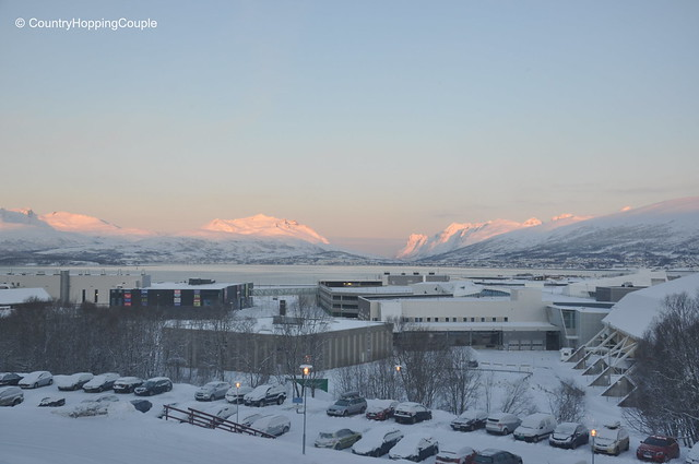 View of Tromso from Scandic Hotel