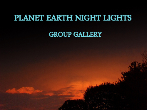 PLANET EARTH NIGHT LIGHTS GROUP GALLERY