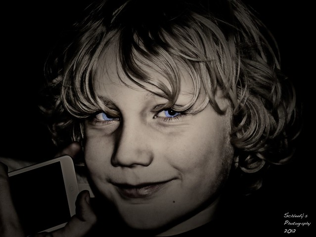 Portrait: Blue Eyes