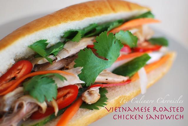 Bnh M G Nng Vietnamese Roasted Chicken Sandwich