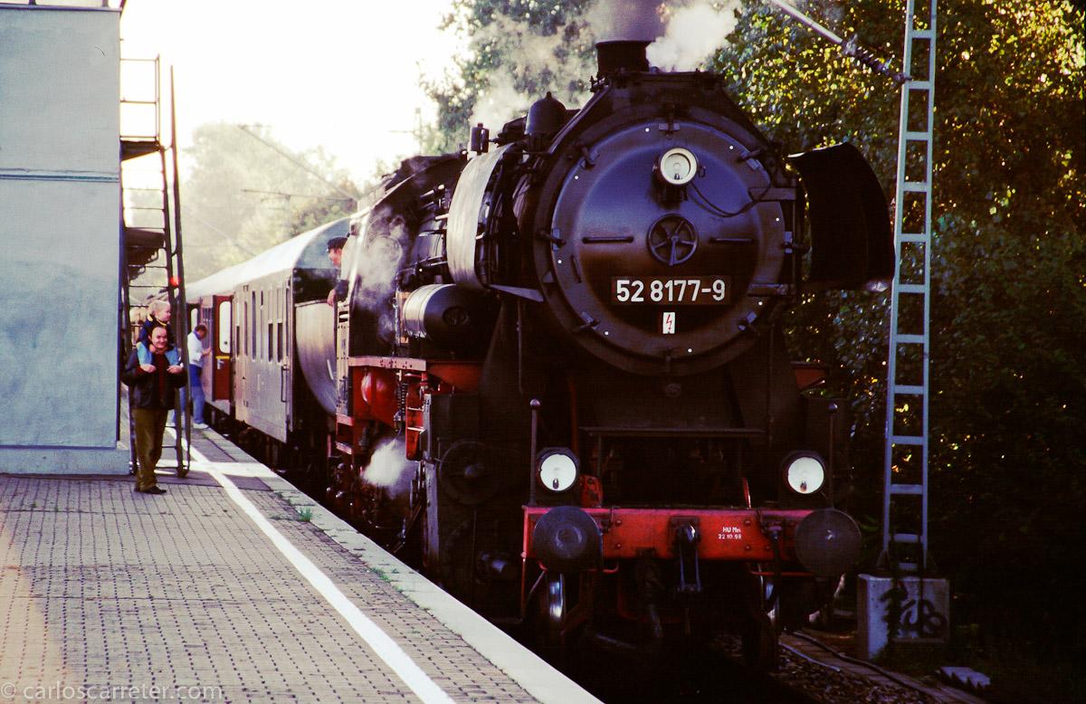 Ferrocarril histórico en Berlín-Charlottenburg