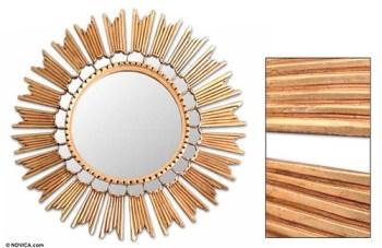Novica sun princess mirror