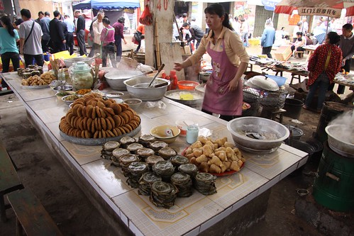 Food at market