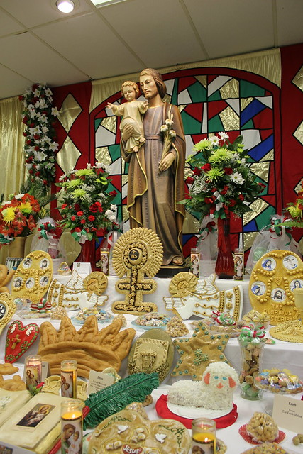 St. Cletus Catholic Church St. Joseph's Day Altar, Gretna Louisiana