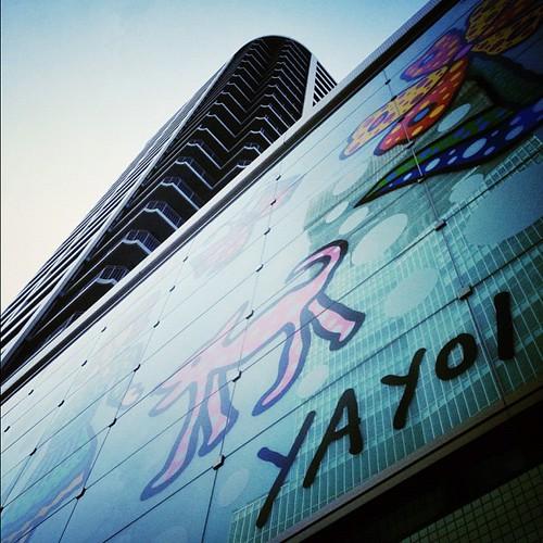 ここにもあった! 草間さんの作品ですよ!(*^ー゚)b グッジョブ!!  #iphonography #instagram #iphone4s