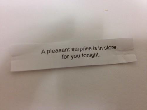My Valentine\'s Day Fortune Cookie