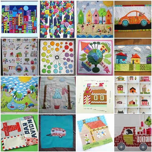 Stitch Tease Inspiration Mosaic