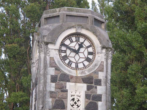 Clock tower on Madras Street