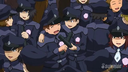 Gundam AGE Episode 18  Battle at the Graduation Ceremony Screenshots Youtube Gundam PH (9)