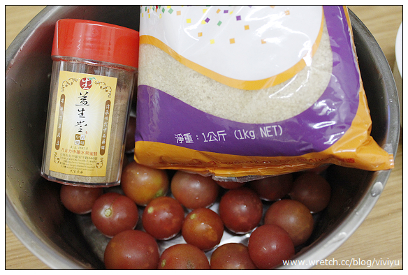 [三腳貓廚藝]三樣材料完成.梅汁蜜蕃茄 @VIVIYU小世界