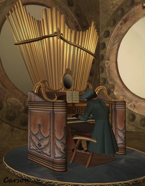 Cedar Bay Home Furnishings - Capt. Nemo's Pipe Organ
