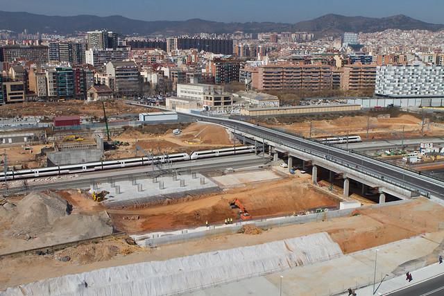 Vistas del nuevo puente del trabajo - 13-03-2012