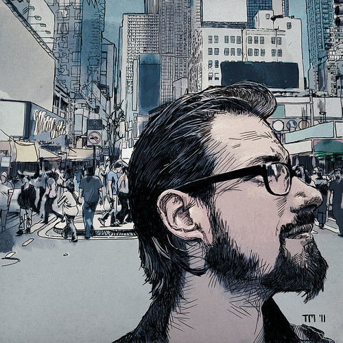 Portrait Of Benny Greb in New York