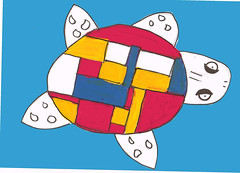 Mondrian Turtle