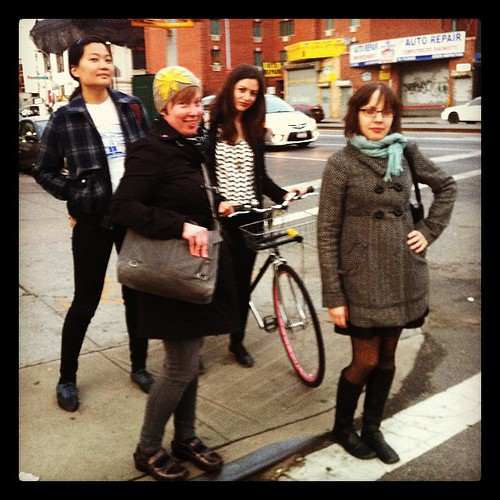 Zine Girl Army reunited and on the march!