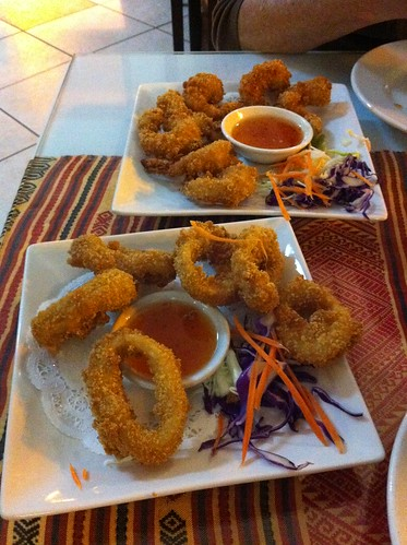 Roberta's Birthday Dinner 2012 005 Shrimp & Calamari Appetizers
